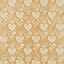 Ivory/Gold Wallcovering by Schumacher Wallpaper