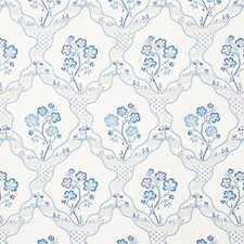 Delft Wallcovering by Schumacher Wallpaper