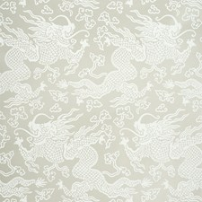 Warm Silver Wallcovering by Schumacher Wallpaper