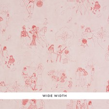 Poppy Wallcovering by Schumacher Wallpaper