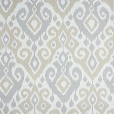 Sand/Grey Wallcovering by Schumacher Wallpaper