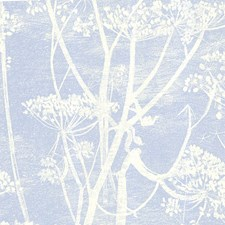 White/Blu Sidewall Wallcovering by Cole & Son Wallpaper