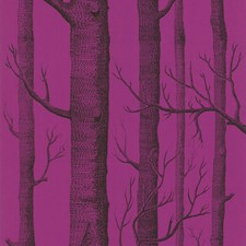 Onyx/Plum Wallcovering by Cole & Son Wallpaper