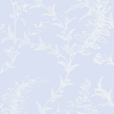 Pale Blue Wallcovering by Cole & Son Wallpaper