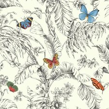 Red/Blue/Green Animals Wallcovering by York
