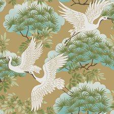 AF6594 Sprig & Heron by York