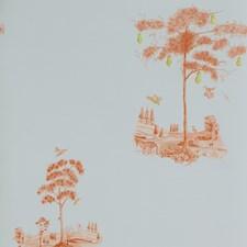 Sunsetorange Novelty Wallcovering by Andrew Martin Wallpaper