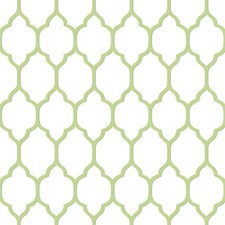 Light Cream/Frosted Line/Sage Trellis Wallcovering by York