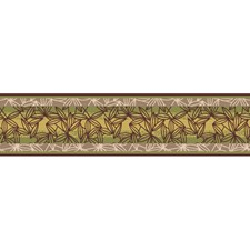 Green/Brown Contemporary Wallcovering by York