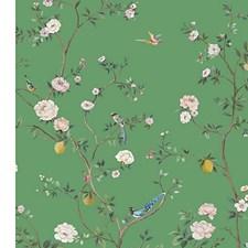 Vert Garden Wallcovering by Scalamandre Wallpaper