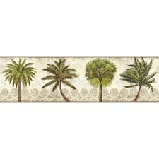 Beige/Green Botanical Wallcovering by York