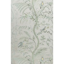 Silver Toile Wallcovering by Brunschwig & Fils