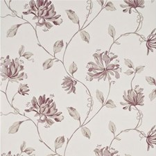 Mauve/Ivory Botanical Wallcovering by G P & J Baker