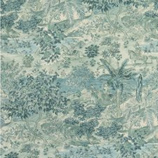Blue Wallcovering by G P & J Baker