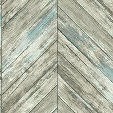 CM3337 Herringbone Wood Boards by York