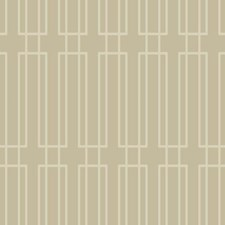 Pale Taupe/Gold Glittering Sand Geometrics Wallcovering by York