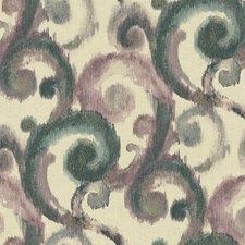 Beige/Dark Teal/Purple Traditional Wallcovering by York