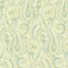 Beige/Teal/Aquamarine Modern Wallcovering by York