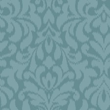 Blues Ikat Wallcovering by York
