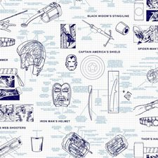 DI0935 Marvels Heroes Schematics by York