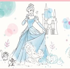 DI1021BD Disney Princess Pretty Elegant Border by York