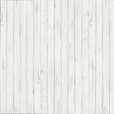 DM169 White Wooden Wall Mural by Brewster