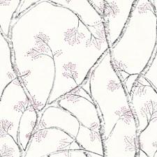 White/Black/Magenta Weaves Wallcovering by York