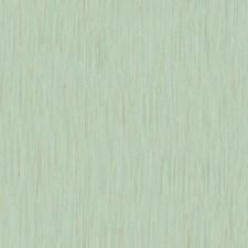 Aqua/Metallic Gold Stripes Wallcovering by York