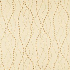 Champagne Geometric Wallcovering by Threads