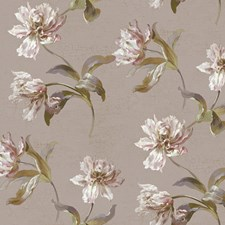 Pale Pearlescent Lavender/Gold/White Sure Strip Wallcovering by York