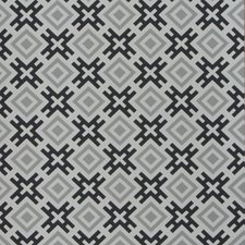 Silver/Charcoal Geometric Wallcovering by Groundworks