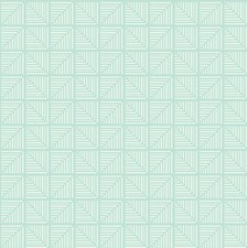 Turquoise/White Bohemian Wallcovering by York