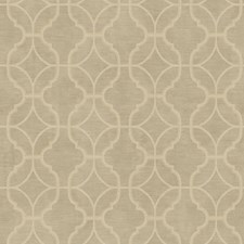 Antique Gold/Grey/Cream Geometrics Wallcovering by York