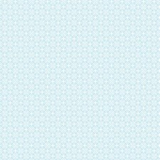 Sky Blue/Snow Dots Wallcovering by York