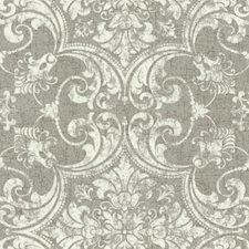 Metallics/White/Off Whites Cork Wallcovering by York