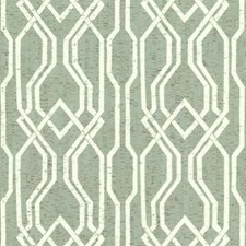 Greens/White/Off Whites Trellis Wallcovering by York