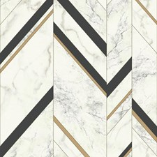 MM1805 Marble Chevron by York