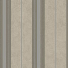 Gray/Silver Stripes Wallcovering by York