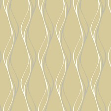 Metallics On Cream Wallcovering by Scalamandre Wallpaper
