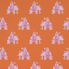 Clementine Print Wallcovering by Lee Jofa Wallpaper