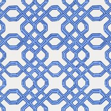 Bright Navy Print Wallcovering by Lee Jofa Wallpaper