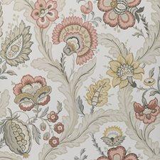 Blush/Stone Botanical Wallcovering by Lee Jofa Wallpaper