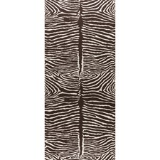 Brown Animal Wallcovering by Brunschwig & Fils