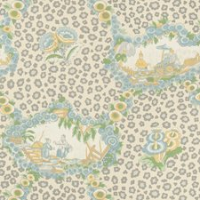 Mist Animal Wallcovering by Brunschwig & Fils
