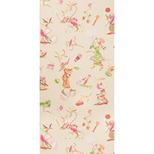 Pink Asian Wallcovering by Brunschwig & Fils