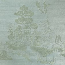 Mist Chinoiserie Wallcovering by Brunschwig & Fils