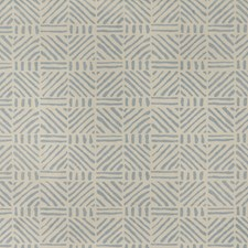 Blue Geometric Wallcovering by Lee Jofa Wallpaper