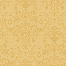 Deep Cream/Pearled Gold Wall Decor Wallcovering by York