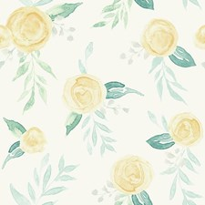 PSW1012RL Watercolor Roses by York