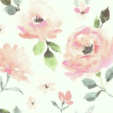 PSW1073RL Watercolor Blooms by York
